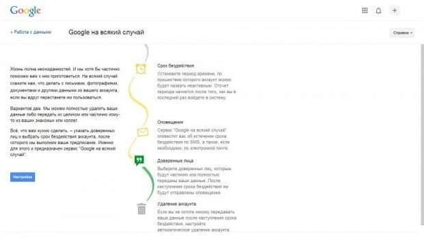 За допомогою нової функції від Google можна видалити свій аккаунт