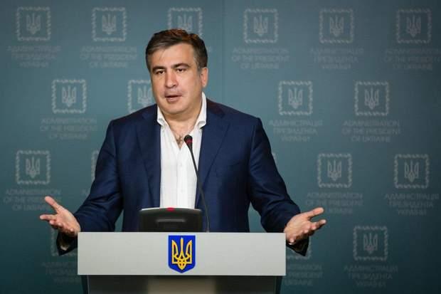 Міхеїл Саакашвілі партія рух нових сил