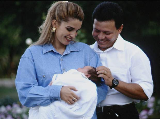 Ранія і її чоловік король Йорданії Абдалла II