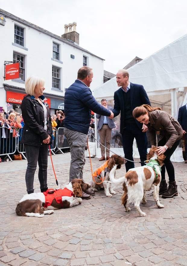 Принц Вільям та Кейт Міддлтон здійснили публічний вихід