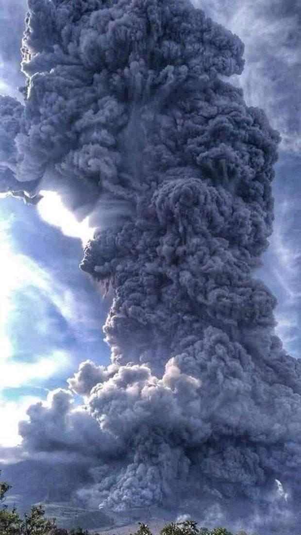 вулкан індонезія