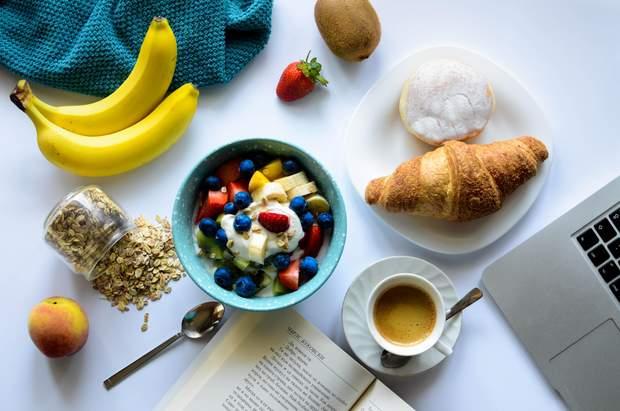 Сир із бананами – варіант легкого сніданку