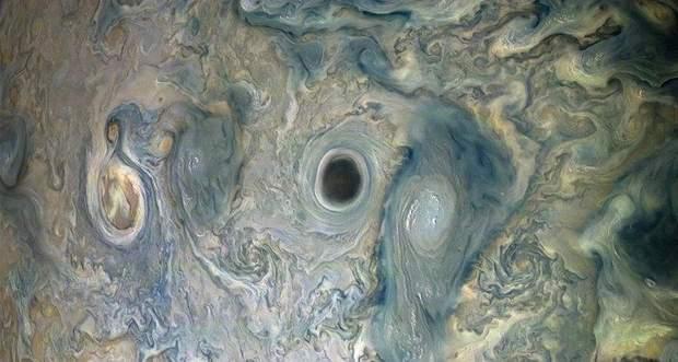 Вихор на поверхні Юпітера