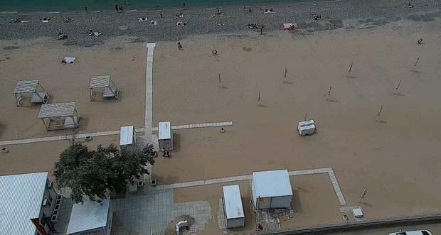 пляж крим