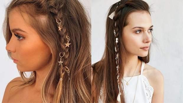 Пірсинг на волоссі