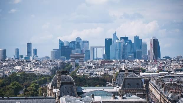 Париж Дефанс діловий квартал