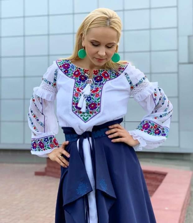 Телеведуча Лілія Ребрик