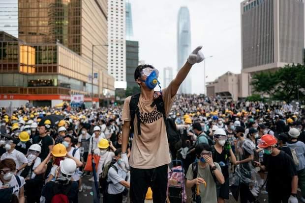 протести Гонконг Китай закон про екстрадицію