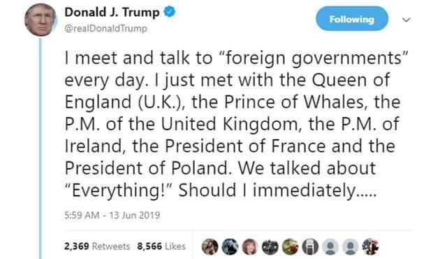 твіт Трампа принц китів курйози меми