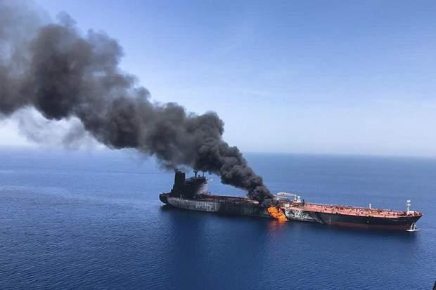 Атака на танкер в Оманській затоці