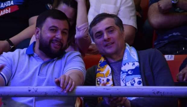 Сурков и Пушилин