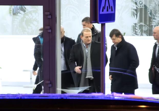 Віктор Медведчук і Тарас Козак