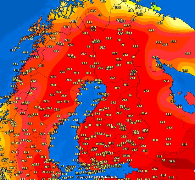 індія температура аномальна спека
