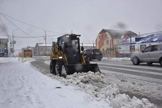 росія сніг
