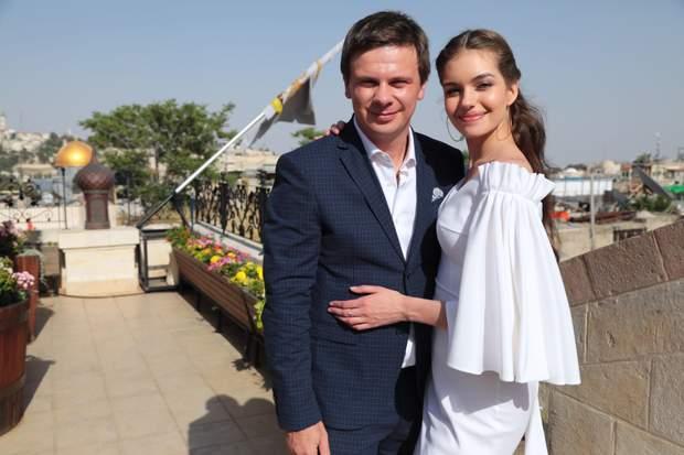 Дмитро Комаров та Олександра Кучеренко: фото з весілля