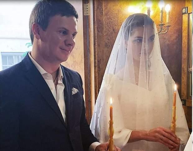 Вінчання Дмитра Комарова та Олександри Кучеренко
