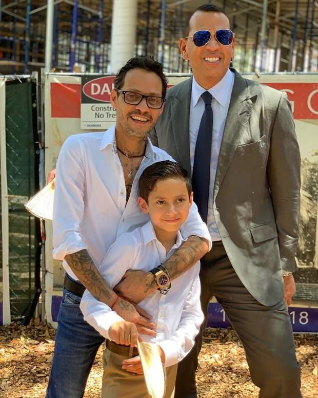 Екс-чоловік Дженніфер Лопес з сином