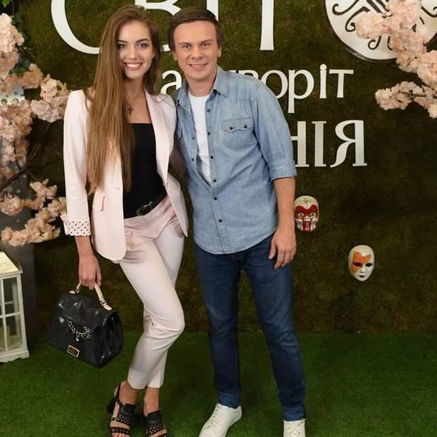 Дмитро Комаров з Олександрою Кучеренко