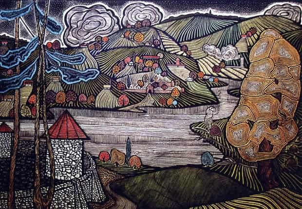 Картина із серії Євгена Коров'янко