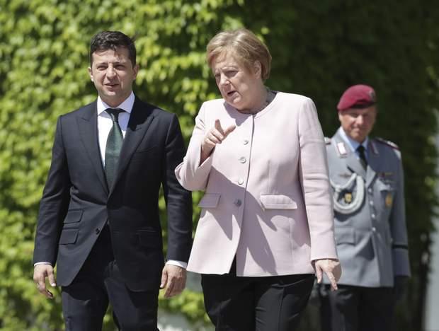 меркель зеленський зістріч німеччина берлін