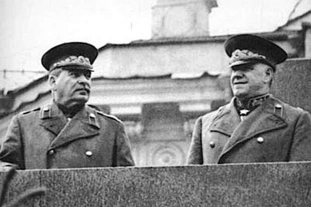 Жуков Сталін історія СРСР фото