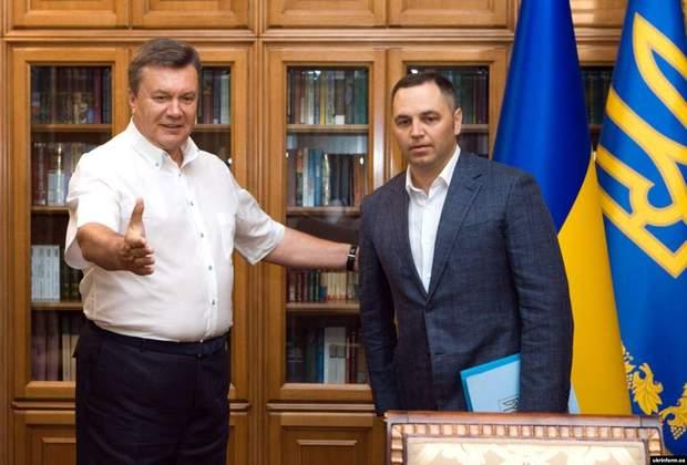 Андрій Портнов Віктор Янукович