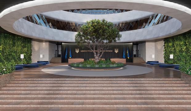 Адміістрація Президента Офіс Презижента архітектура будівля