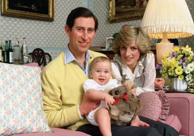 Принц Вільям в дитинстві