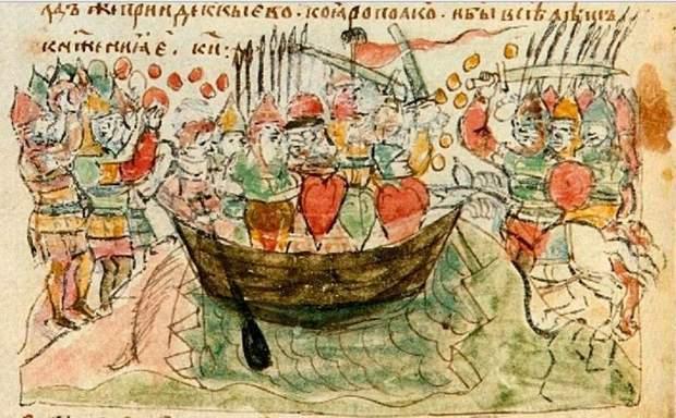 Смерть Святослава