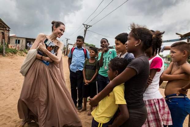 Анджеліна Джолі стала редактором журналу Time
