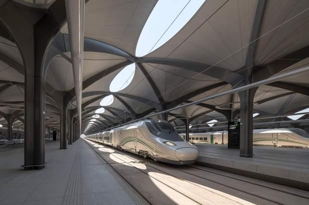 станції залізниця Саудівська Аравія