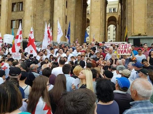 протести Грузія