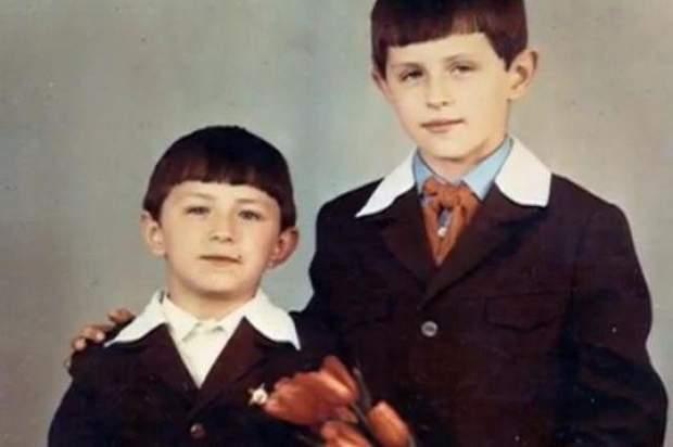 Сергій Притула з братом Василем