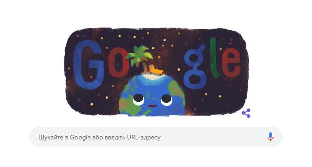 Дудл від Google день літнього сонцестояння
