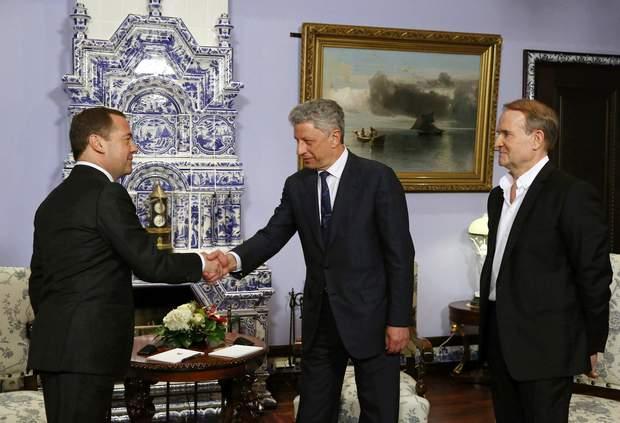 Медведчук і Бойко в Москві