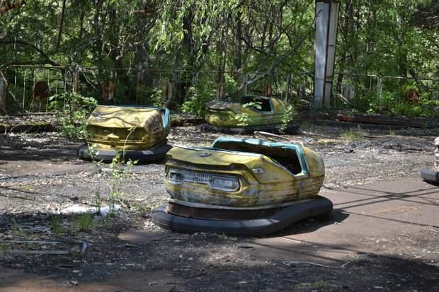 Чорнобиль Прип'ять парк розваг фото
