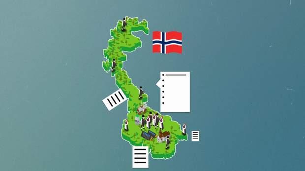 Виборчий список у Норвегії