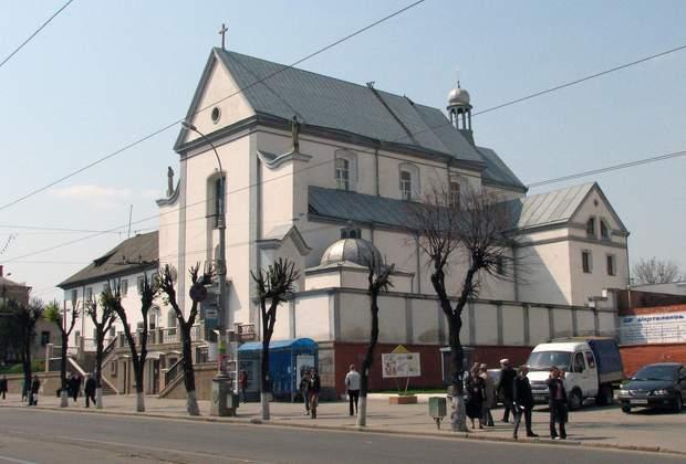 Храм Пресвятої Діви Марії Ангельської — капуцинський костел у Вінниці