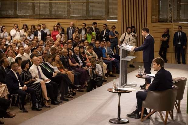Президент на зустрічі з представниками бізнесу