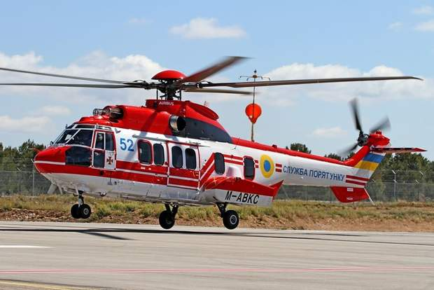 Україна отримала черговий гелікоптер H225 Super Puma
