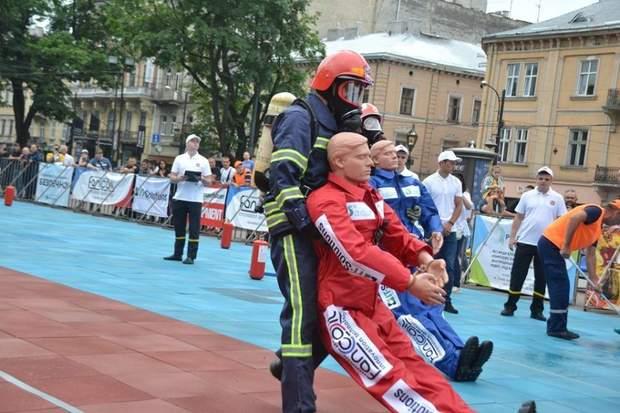 Турнір за звання кращого пожежника у Львові