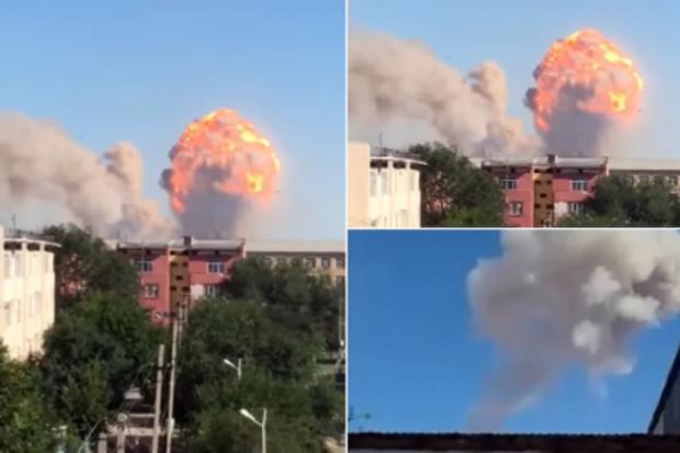 вибух Казахстан боєприпаси