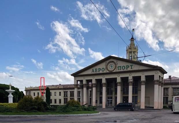 Львів, авіація, старий термінал, аеропорт імені Данила Галицького