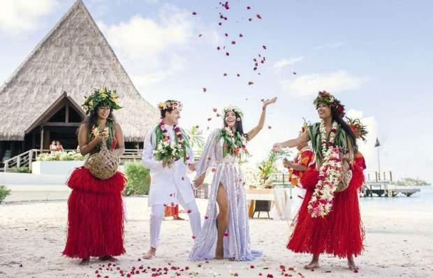 Екзотичне весілля учасника