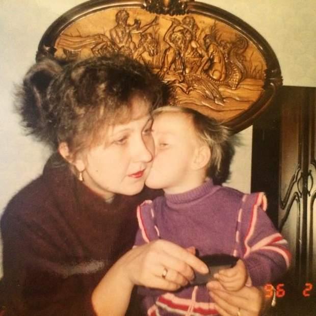 Єкатерина Реп'яхова з мамою