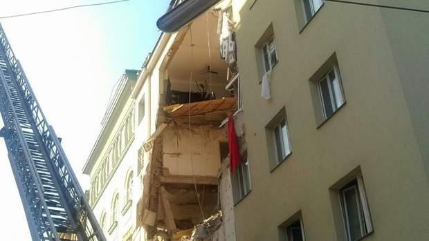 У Відні пролунав вибух