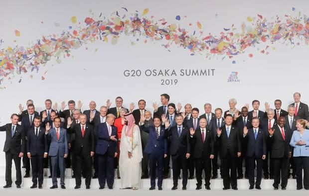 Путін, Трамп, G20, Осака, Японія