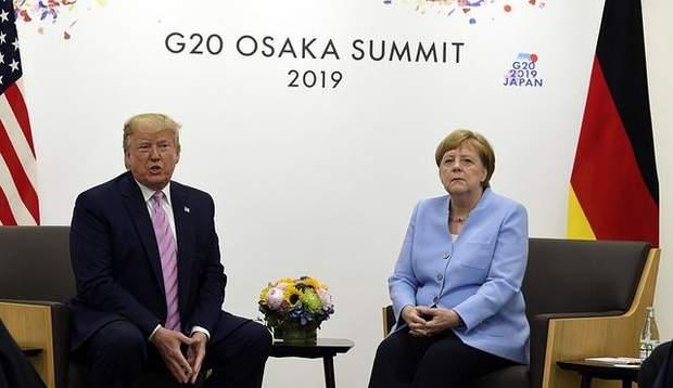 Трамп і Меркель