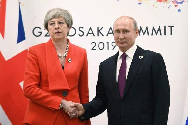 Мей Путін саміт G20