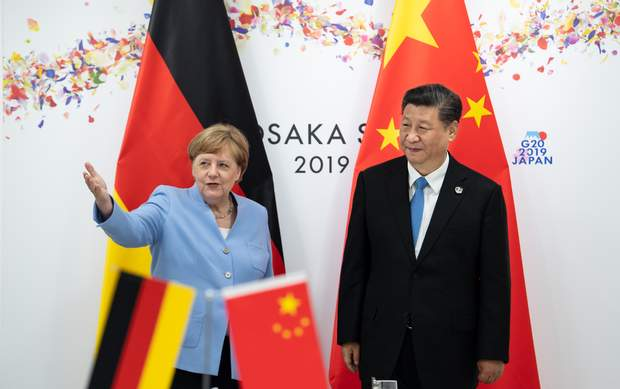 Меркель Осака G20